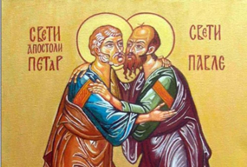 PRAZNIK SVETIH APOSTOLA PETRA I PAVLA