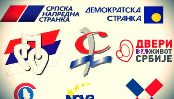 PREKO MILION LJUDI U SRBIJI – ČLANOVI STRANAKA