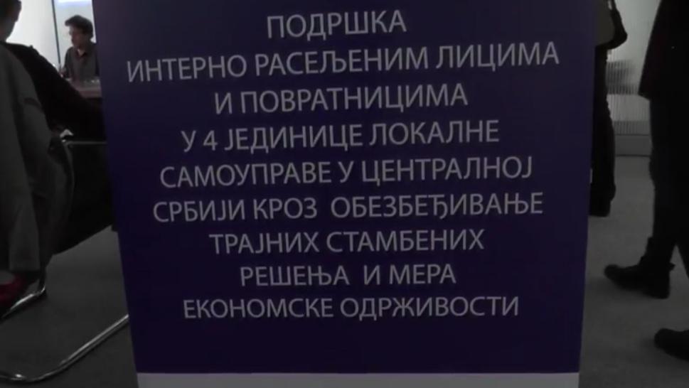 PODRŠKA INTERNO RASELJENIM LICIMA /video