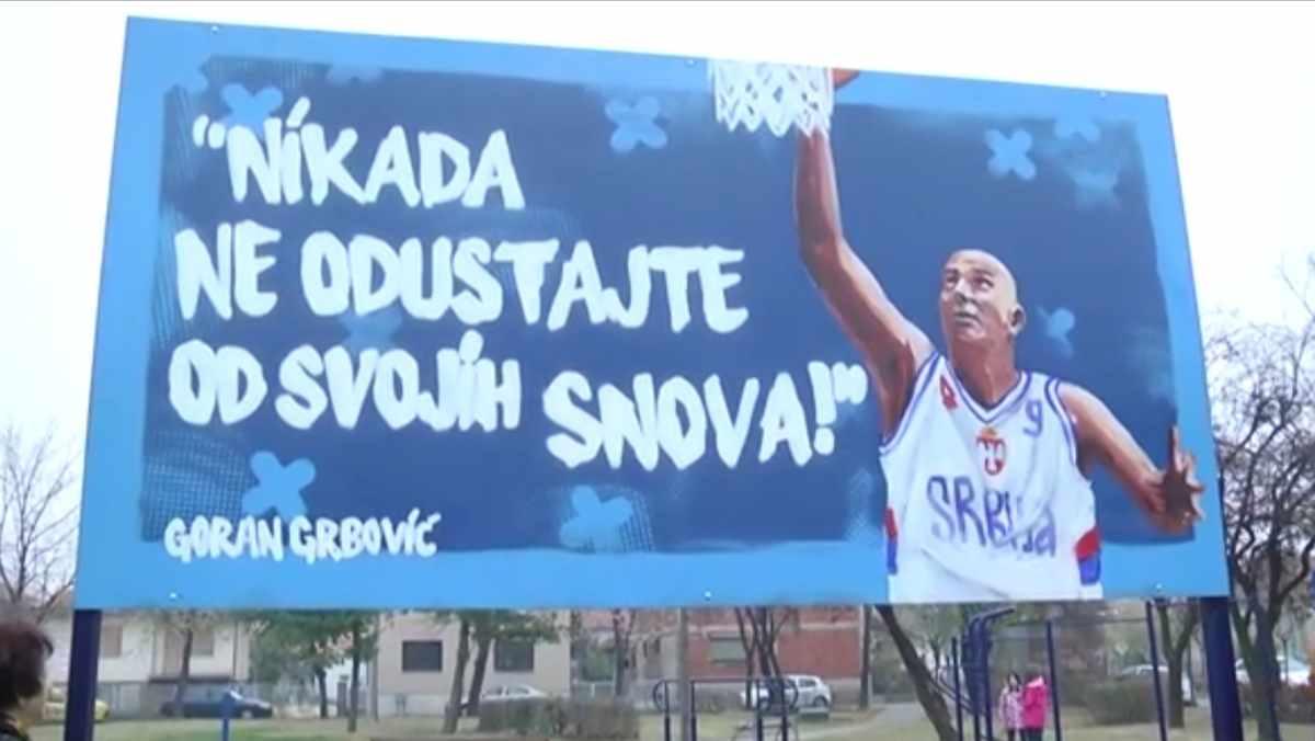 OTVOREN KOŠARKAŠKI MOZZART TEREN /video