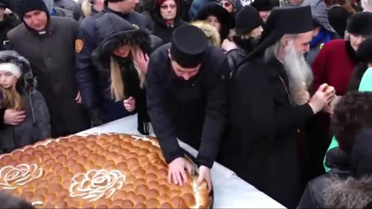 BOŽIĆNA ČESNICA I U VP DOMU /video
