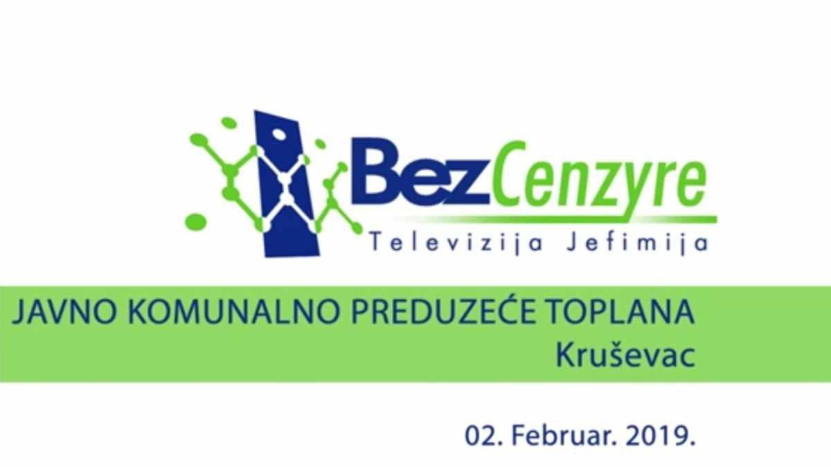 "BEZ CENZURE: DIREKTOR ""GRADSKE TOPLANE"""