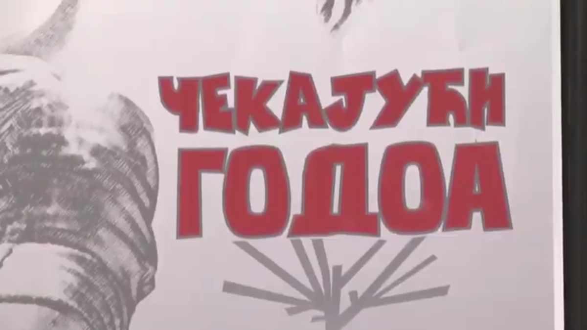 """NOVA PREDSTAVA KRUŠEVAČKOG POZORIŠTA """"ČEKAJUĆI GODOA"""" /video"""