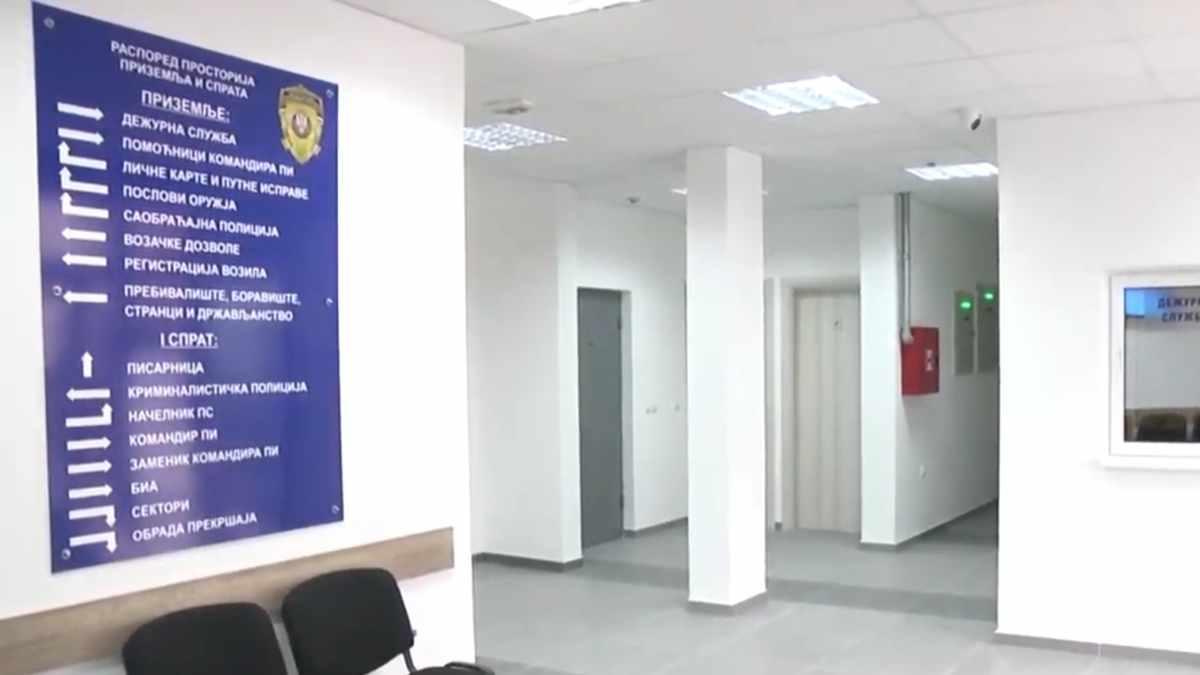 OTVORENA NOVA STANICA POLICIJE U ALEKSANDROVCU /video