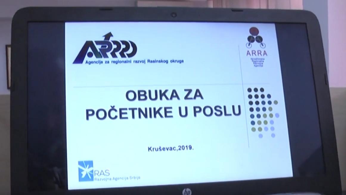 DVODNEVNA OBUKA ZA BUDUĆE PREDUZETNIKE /video