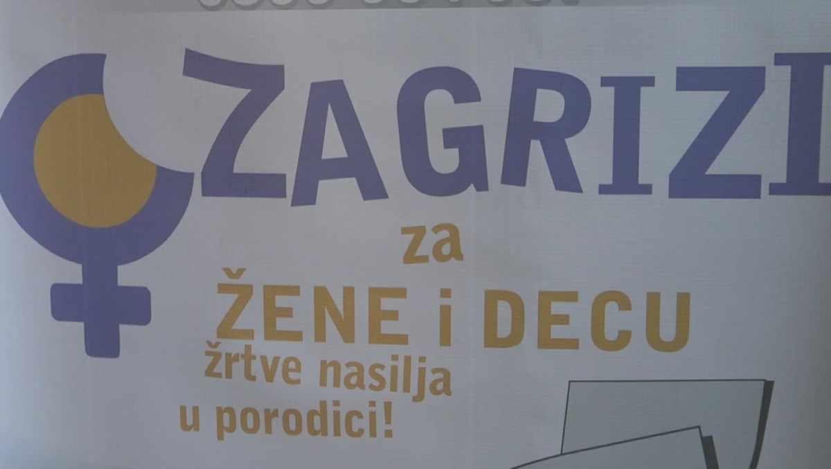 """""""ZAGRIZI ZA ŽENE I DECU, ŽRTVE NASILJA"""" /video"""