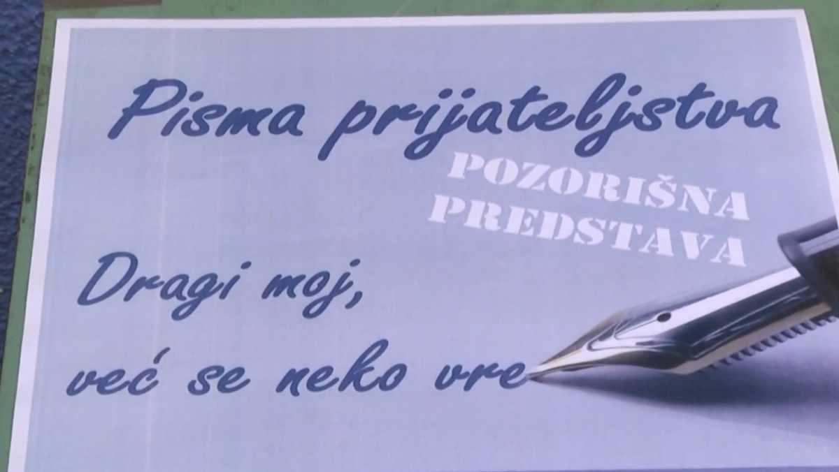 """IZVEDENA PREDSTAVA """"PISMA PRIJATELJSTVA"""" /video"""