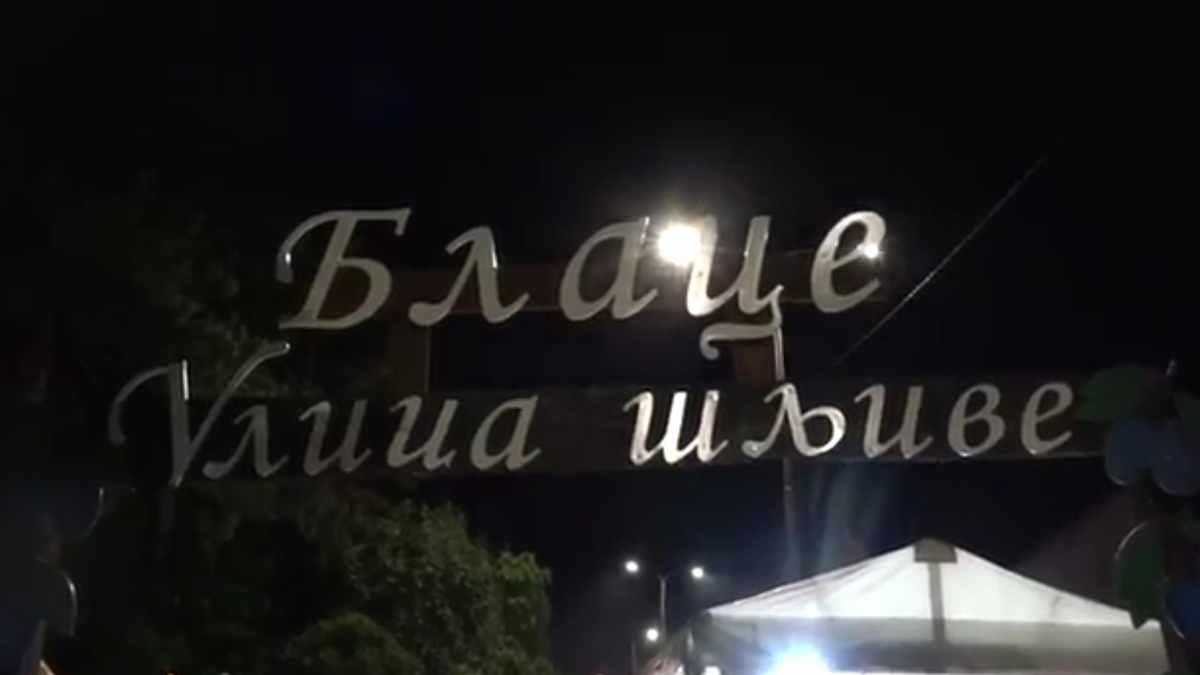 """""""DANI ŠLJIVE"""" U BLACU – ŠLJIVIJADA 2019 /video"""