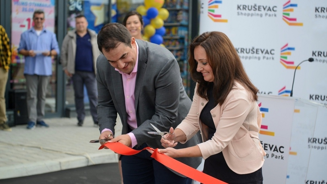 OTVOREN JE SHOPING PARK KRUŠEVAC /video