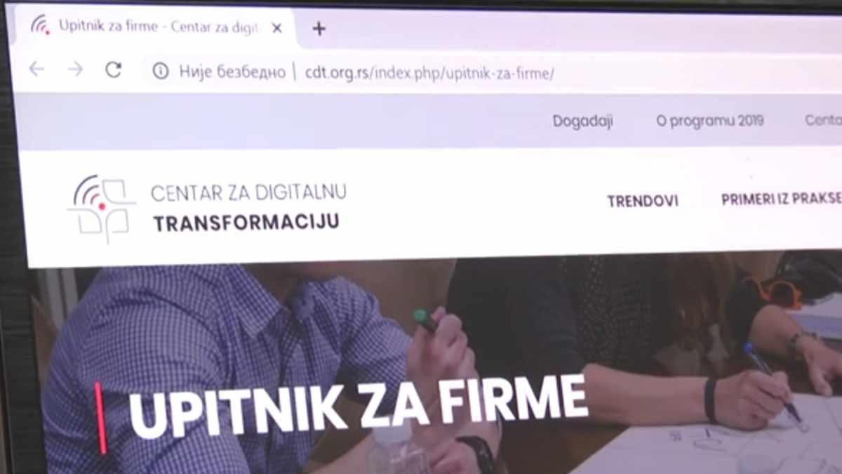 CENTAR ZA DIGITALNU TRANSFORMACIJU /video