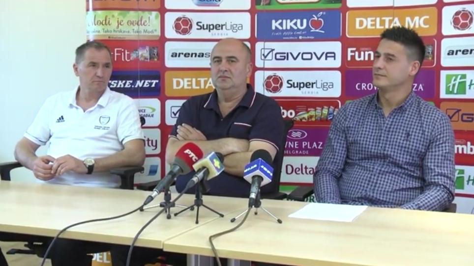 FK NAPREDAK PREDSTAVIO NOVOG TRENERA /video