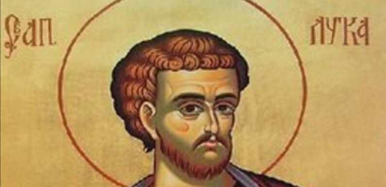 SVETI LUKA – APOSTOL, LEKAR, SLIKAR