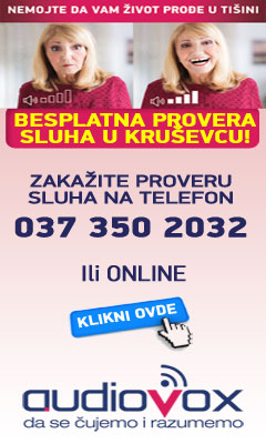 Besplatna provera sluha u Kruševcu - audiovox